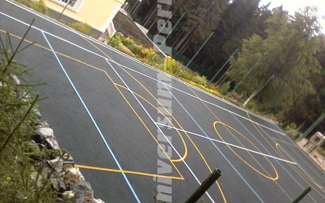 Спортивная площадка частный дом м-рн Гайва