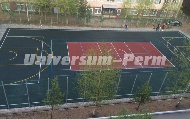 Спортивная площадка ПГТУ