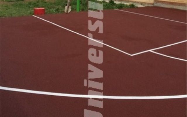 Площадка для игры в стритбол, загородный дом пос. Налимиха