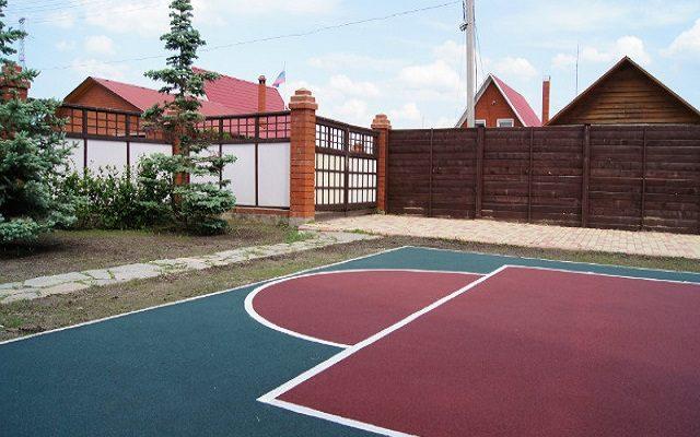 Новые спортивные площадки от компании «Универсум-Пермь»