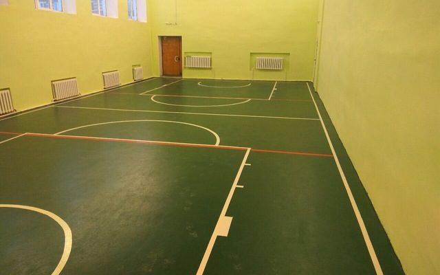 Спорт зал школа, пос. Октябрьский