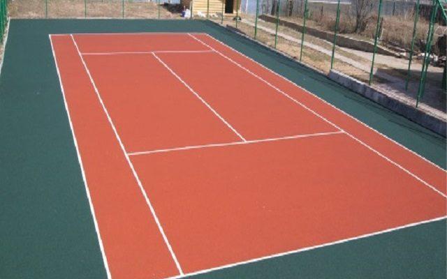 Еще один теннисный корт в «копилку» наших спортивных объектов!!! (поселок » Конино» Нытвенского района)