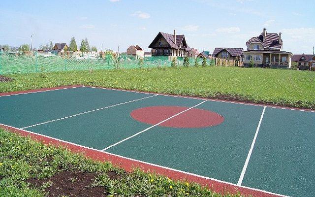 Усть — Качка, поселок » Луговой». Спортивные площадки