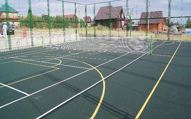 Поселок Гари (Paris) универсальная спортивная площадка