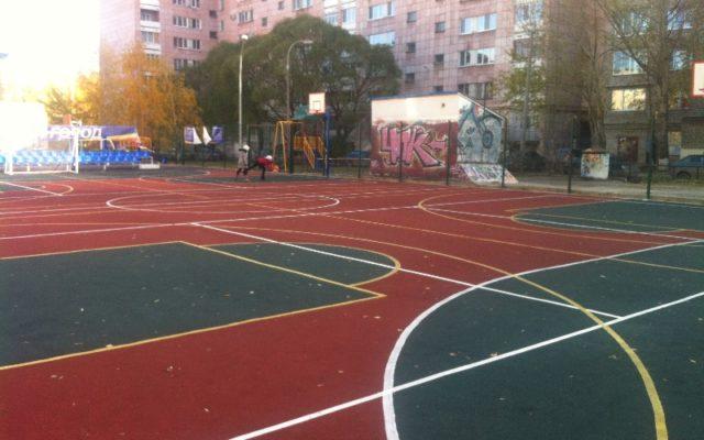 Спортивная площадка на пермской 46