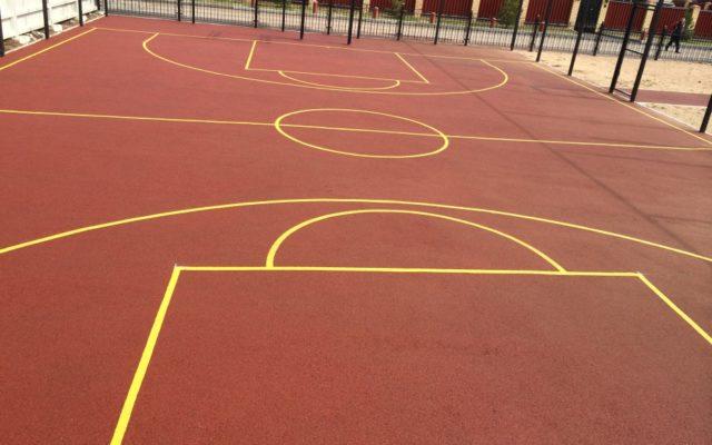 Спортивная площадка пос. Нестюково