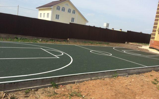 Спортивная площадка в коттеджном поселке «Архирейка»