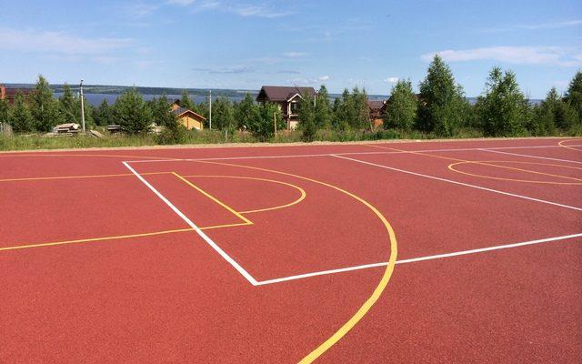 Спортивная площадка загородные владения «Ильинские просторы»