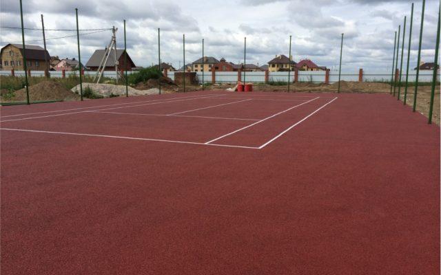 Теннисный корт, коттеджный поселок «Солнечная долина»
