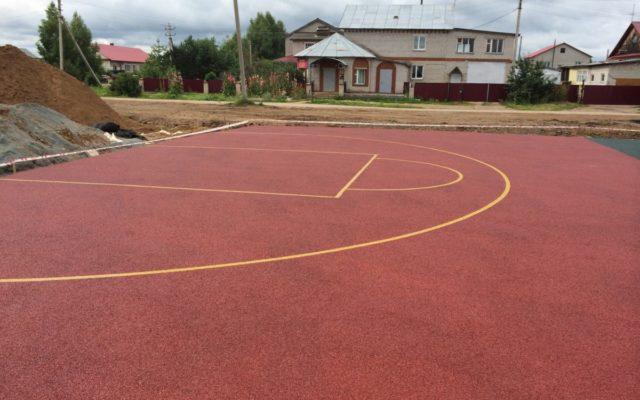 Спортивная площадка г Оса