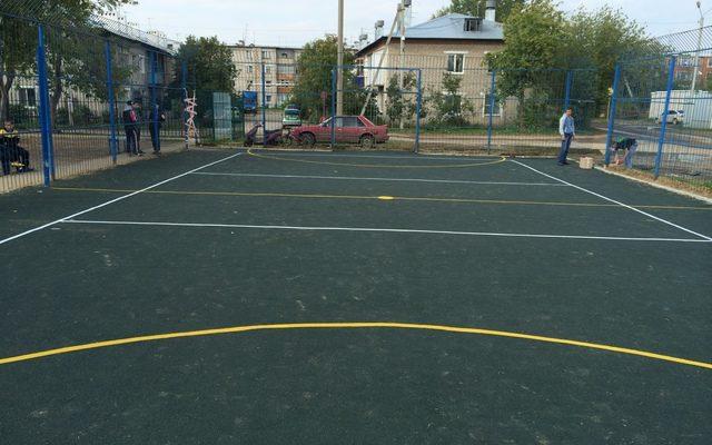 Спортивная площадка пос. Песьянка