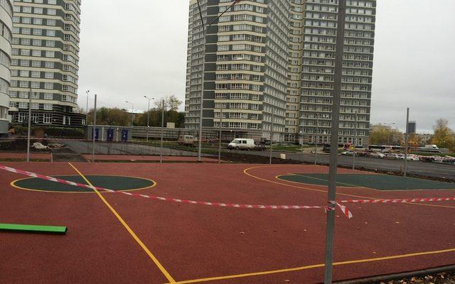 Спортивная площадка Чернышевского 19б