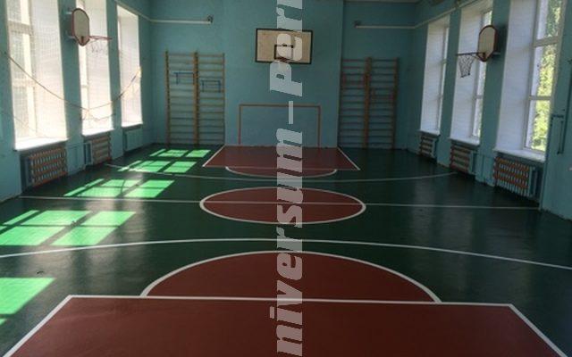 Спорт зал для школы №1 на Калинина 19