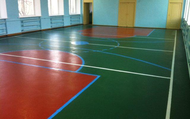 Спортивный зал школы № 12 на Цимлянской 4