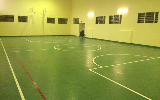 Спортивный зал. Завода «Машиностроитель»