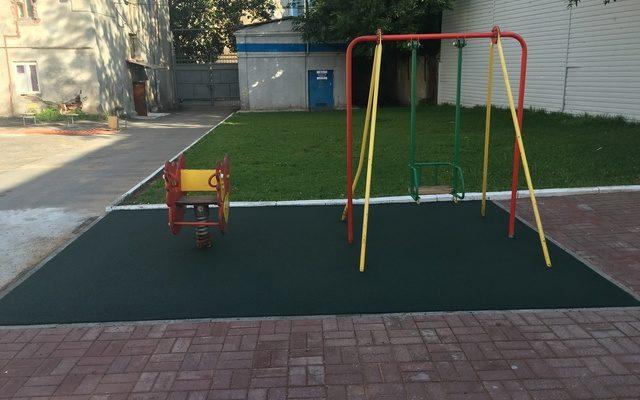 Детская площадка еврейской школы ул.25 Октября, 43