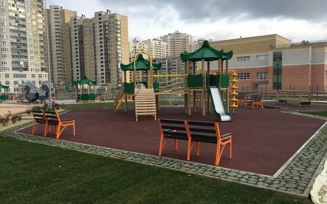 г. Екатеринбург детские площадки
