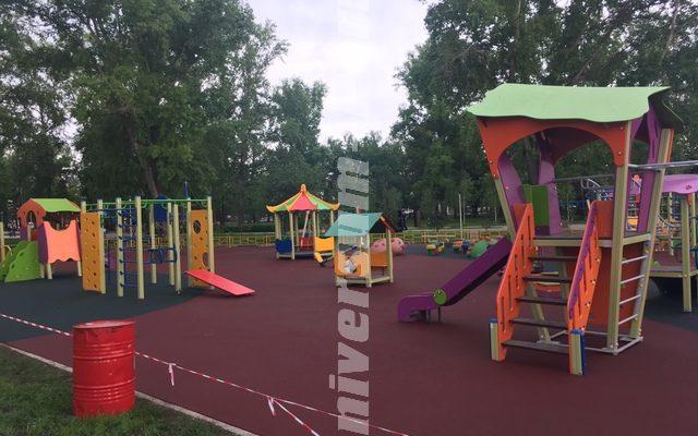 Детская и спортивная площадки в г.Уфа