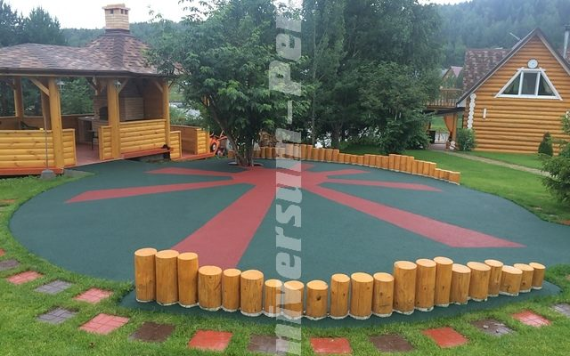 Детская площадка частный дом пос. «Талое»