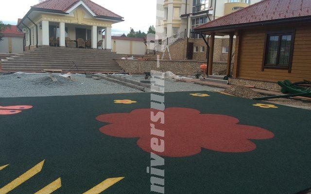 Детская площадка поселок Мостовая