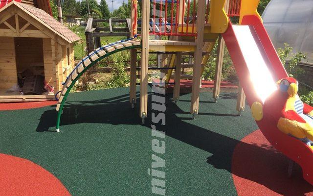 Детская и спортивная площадка загородного дома пос. Конец гор