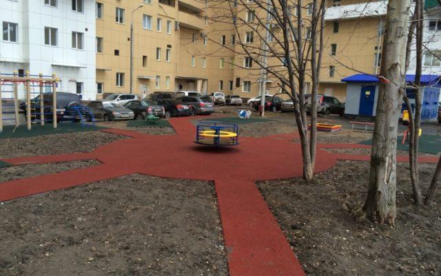 Детская площадка жилого комплекса «Солнечный город»