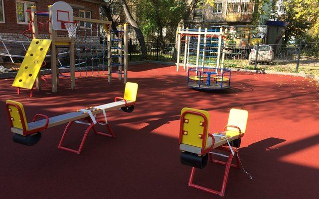 Детская площадка «Гимназия №4»