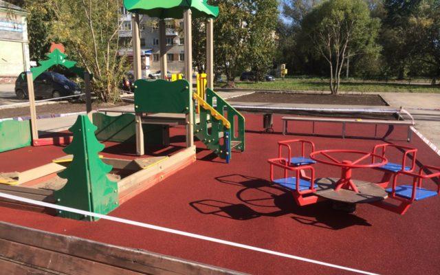 Детская площадка микрорайон Загарье