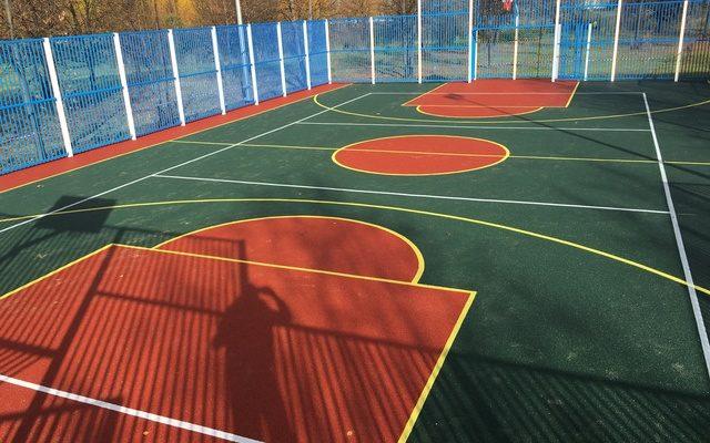 Спортивная площадка, Вышка 2