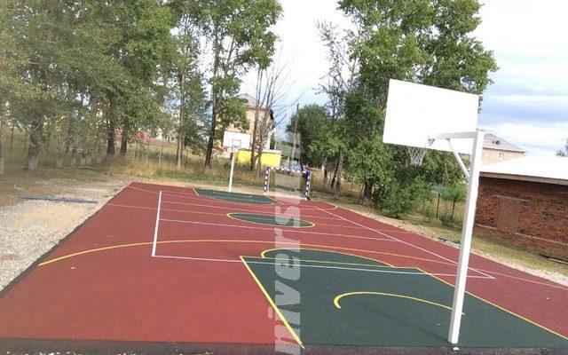 Спортивная площадка пос. Горнозаводск!
