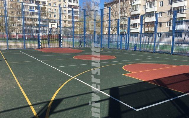 Спортивная площадка на ул. Маршалла Рыбалка, 107г