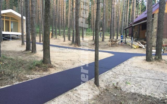 Санаторий «Демидково», пешеходные дорожки выполнены покрытием «Универсум»