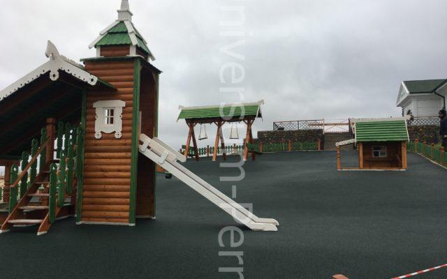 Детская площадка, Белогорской монастырь!