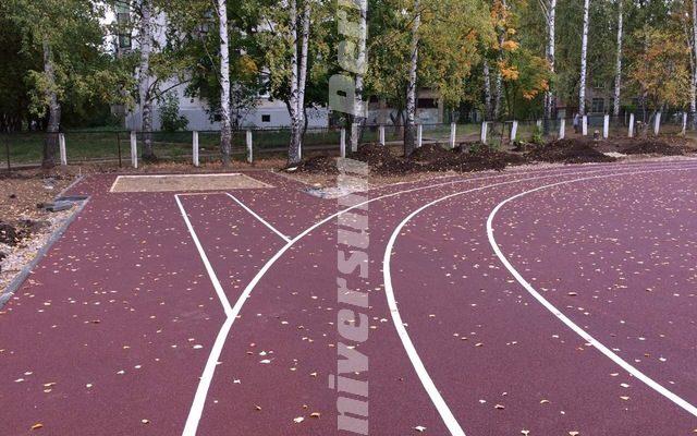 Стадион, город Чайковский.
