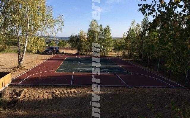 Спортивная площадка посёлок «Ключи» Суксун