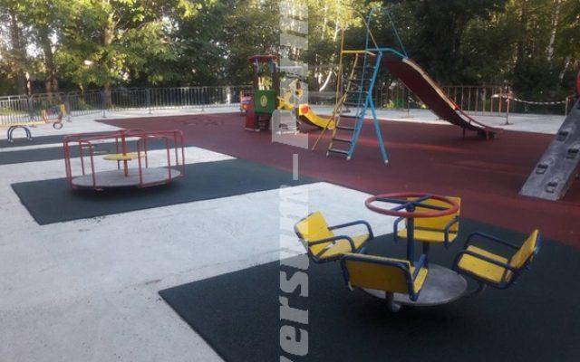 Детская площадка, город Лысьва