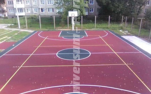 Спортивная площадка, спортивной школы «ИСКРА»