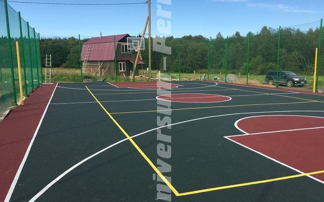 Спортивная Площадка под ключ для загородного дома от нашей компании