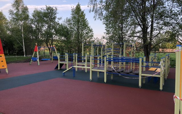 Детские площадки курорта Ключи