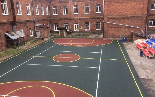 Спортивная площадка, Школа №7