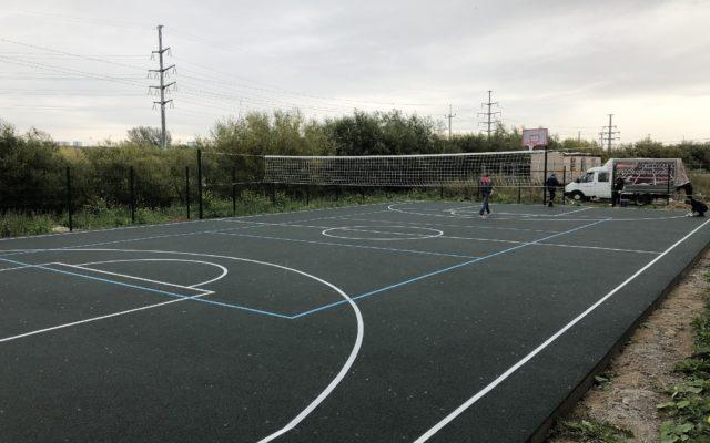 Спортивная частная площадка, пос. Кондратово