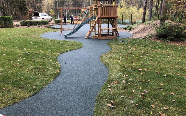 Детская площадка пос. Лесная сказка