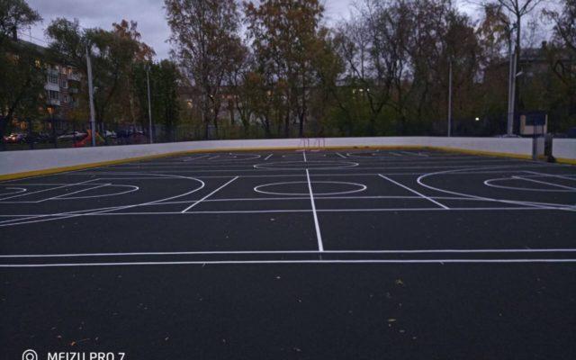 Универсальная спортивная площадка ул. Советской армии 5