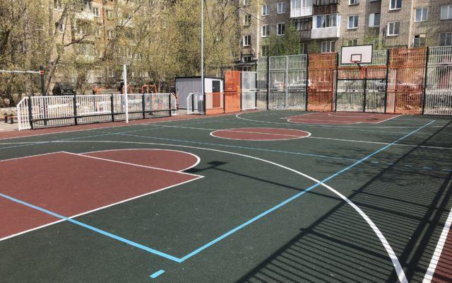 2019 г. Спортивная площадка, ул Петропавловская 60