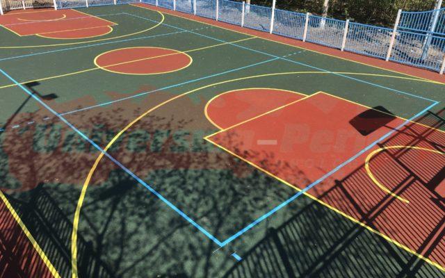 2019 г. Спортивная площадка Карпинского 83а
