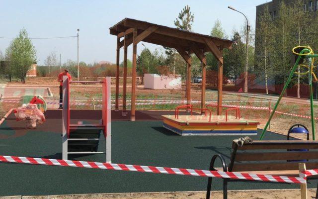 2019 г. Детская площадка г.Соликамск