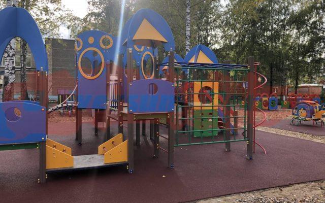 Детская площадка г. Чайковский, детский сад