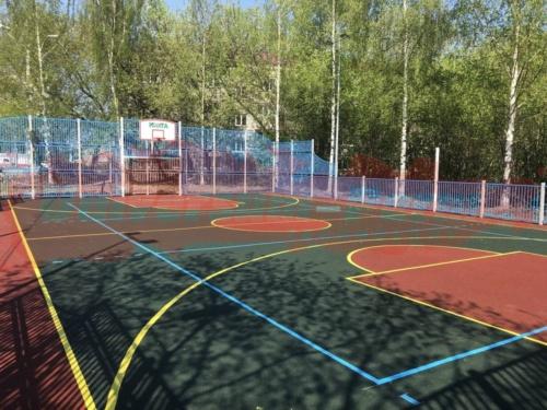 Спортивная площадка Карпинского 83а