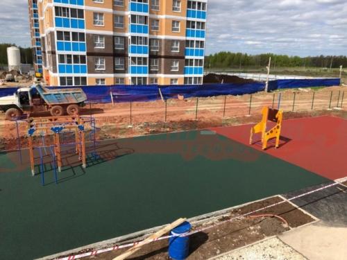 Детская площадка детского сада м-р Ива