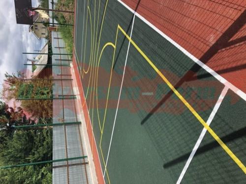 Спортивная площадка пос. Жебреи